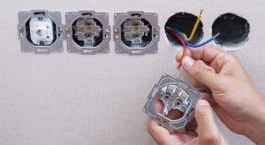 تبدیل کلید برق به پریز
