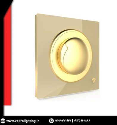 کلید دیمر ویرا مدل آلفا کلاسیک گُلد
