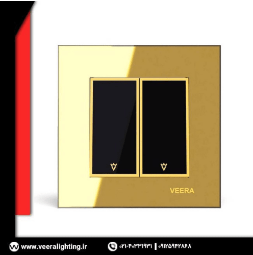 کلید ویرا مدل امگا طلا طلا مشکی