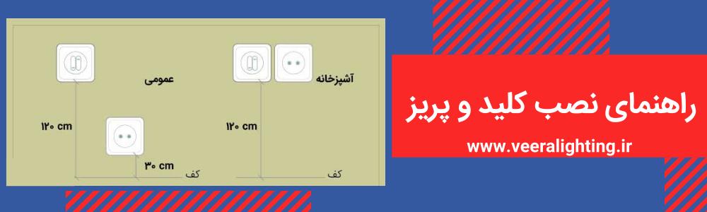 نصب کلید و پریز سرویس بهداشتی
